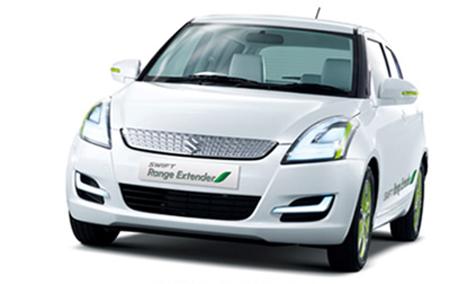 Suzuki Swift Range Extender - image via Suzuki