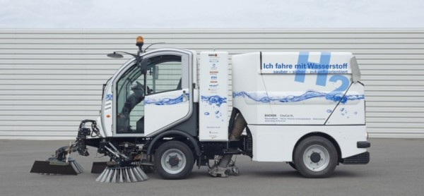 Swiss Hydrogen Street Sweeper
