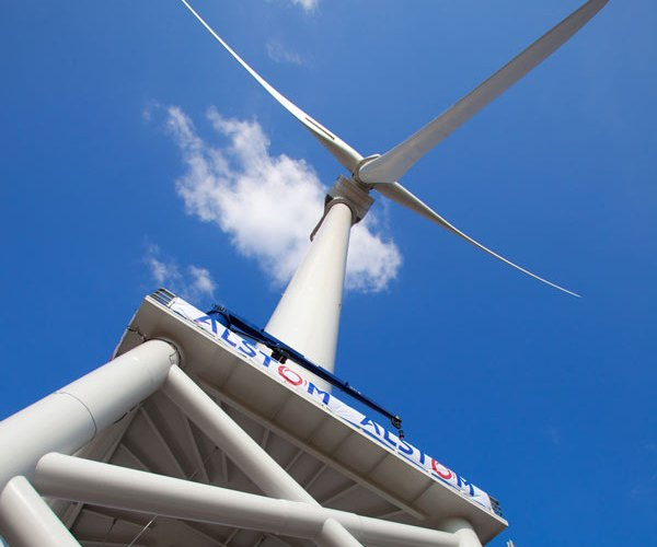 Alstom Haliade Wind Turbine