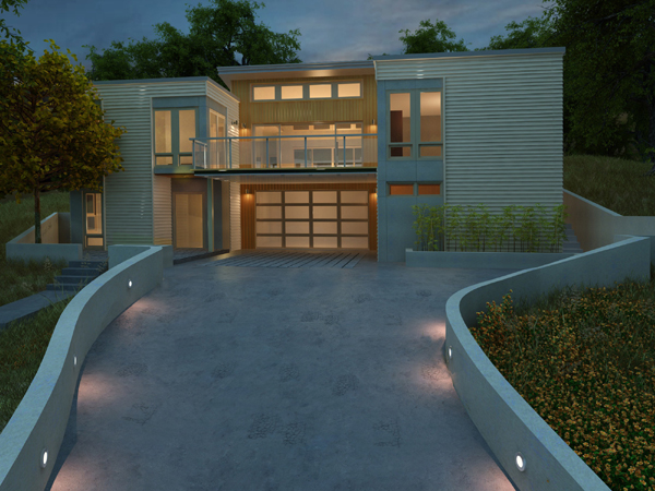 Blu, Sunset Idea House1