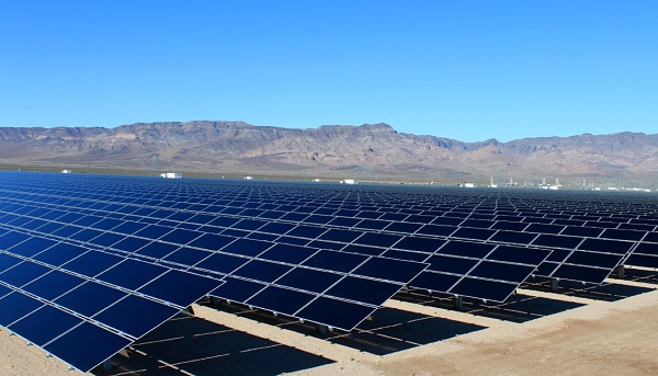 Copper Mountain Solar in Nevada (image via Sempra U.S. Gas & Power)