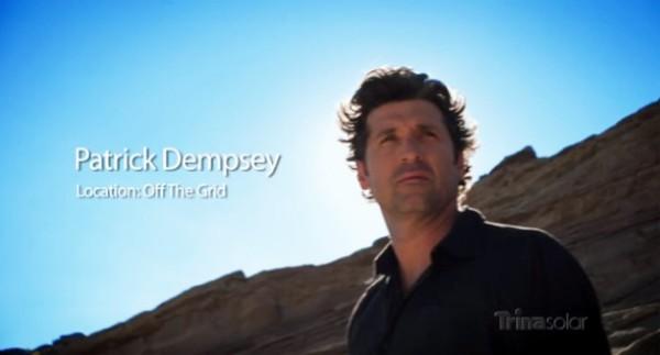 Patrick Dempsey Trina Solar