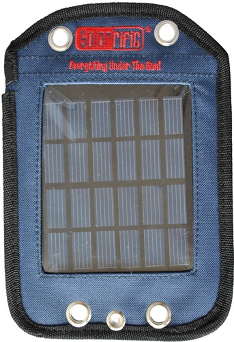 Solarific backpack solar panel