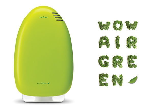 WOW Air Green filter