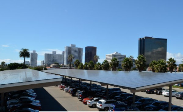 West Los Angeles VA Solar Carport