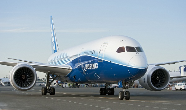 Boeing 787 biofuel flight