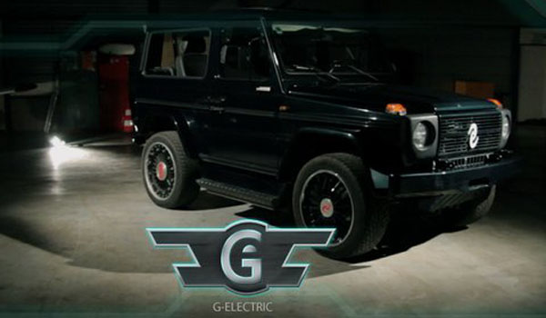 Electric G Wagen Suv Says Get Outta My Way