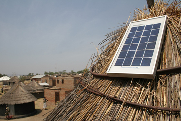 South Sudan solar panels