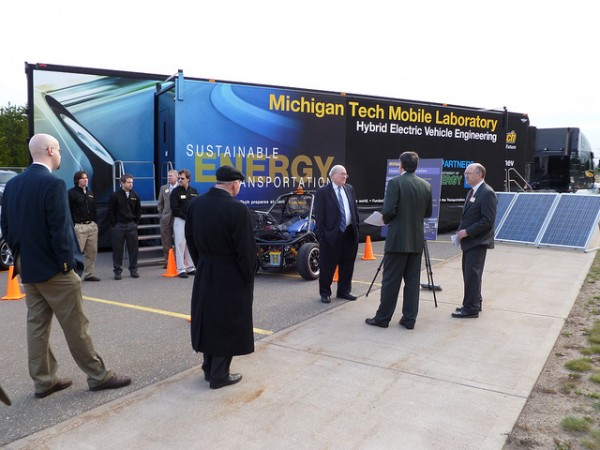 mobile lab, michigan tech, washington, d.c.