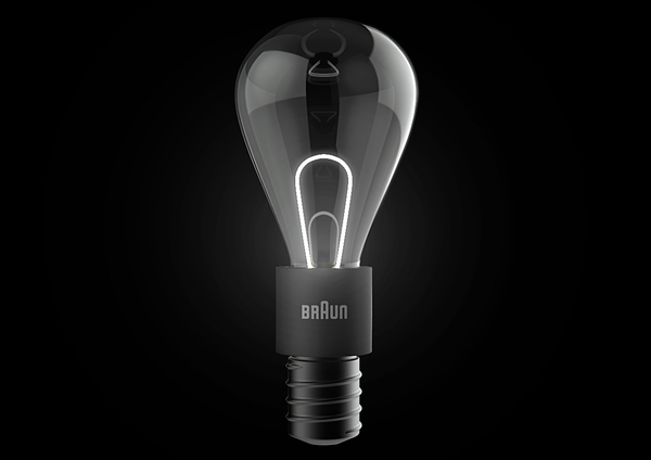 Lit Hybrid Light Bulb