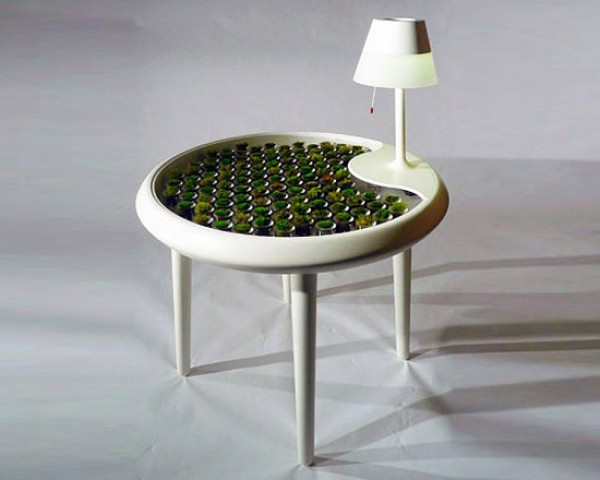 Moss-Powered Table