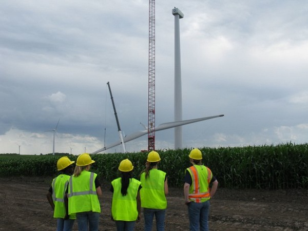women of wind energy mentoring