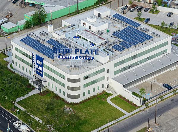 Blue Plate building, NoLa