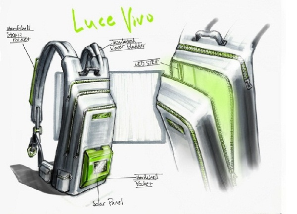 Luce Vivo backpack