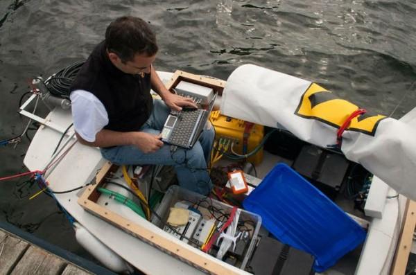 Robot Sail Boat 2