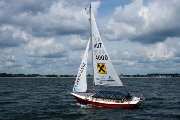 Robot Sail Boat