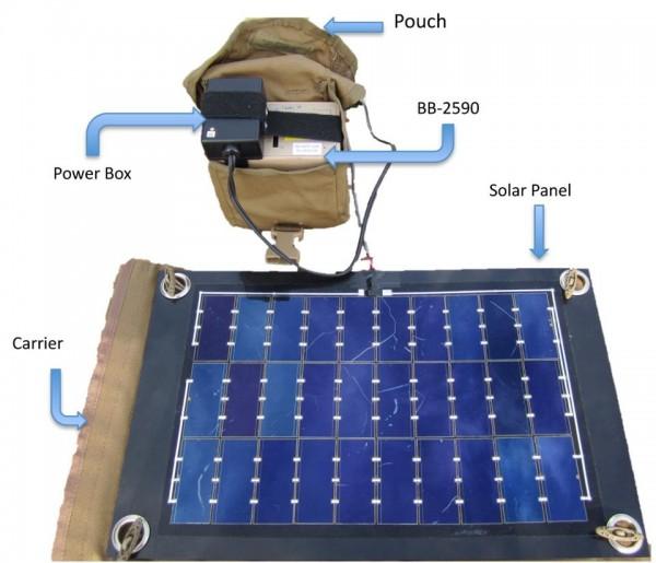USMC Solar Pack