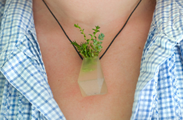 Wearable Planter pendant