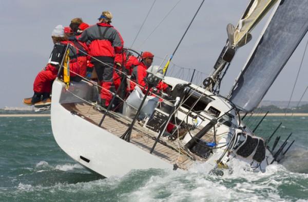 Sail boat racing