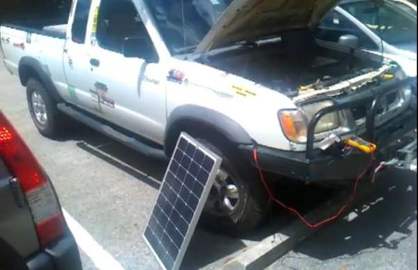 DIY Solar Truck Hack