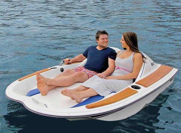 Hammacher Schlemmer Electric Boat