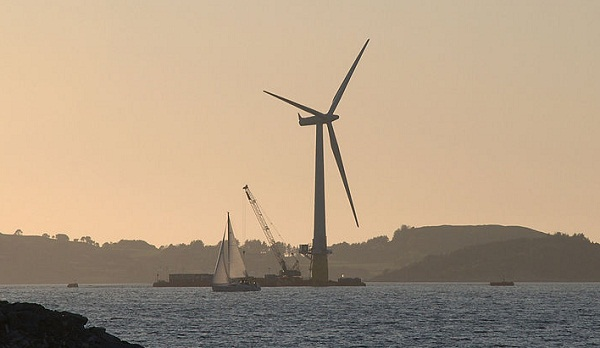 floating wind turbines, hywind