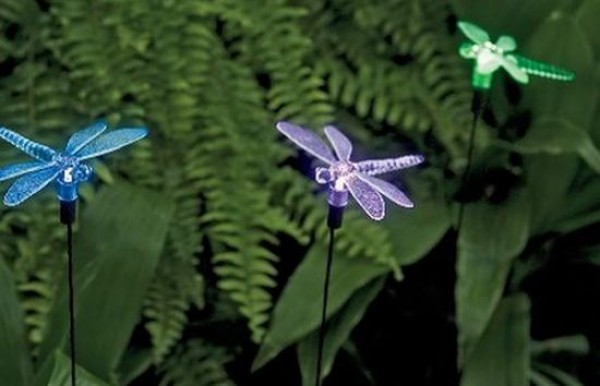 Solar Dragonfly Garden Lights