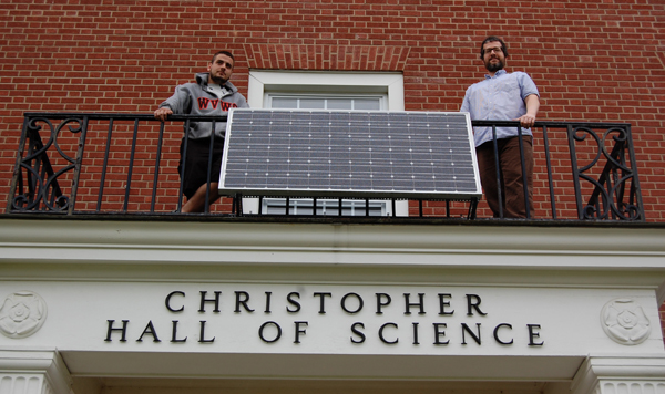 WVWC Solar Power system