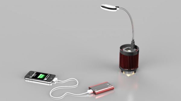 tPOD1 thermoelectric charger