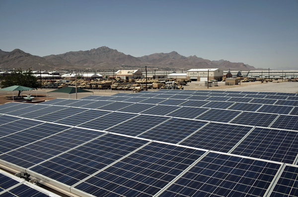 Texas Tribune - Ft. Bliss Solar