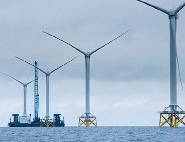 Offshore UK wind power