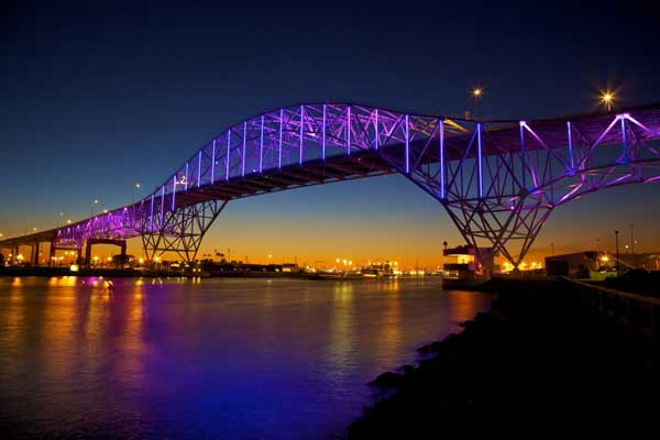 Christi Harbor Bridge LED system