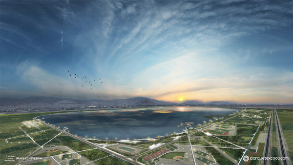 Lake Texcoco Ecological Park Plan