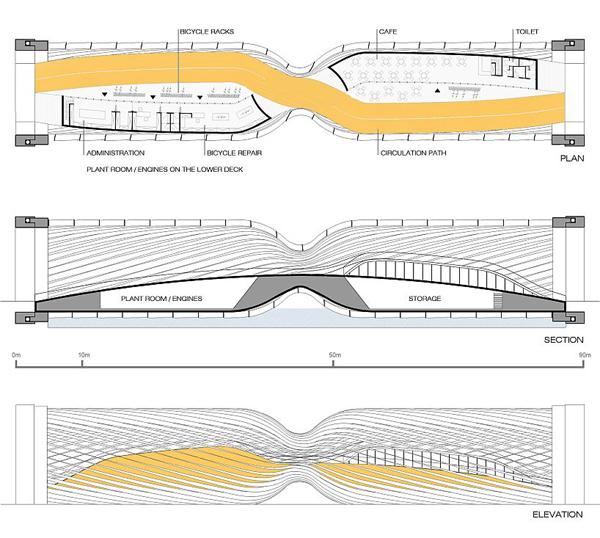 Amsterdam Turbine Bridge