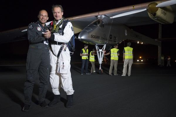 Solar Impulse, solar plane
