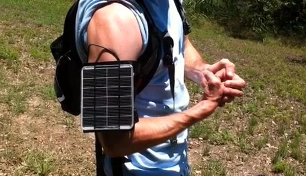 Apollo Armband Solar Generator