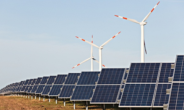 wind and solar
