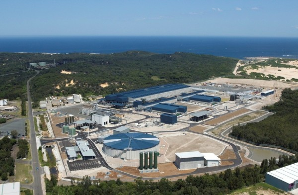 australia green power desalination