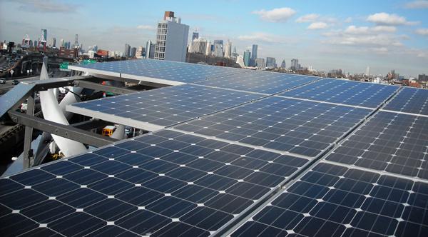 Delta building solar racking system