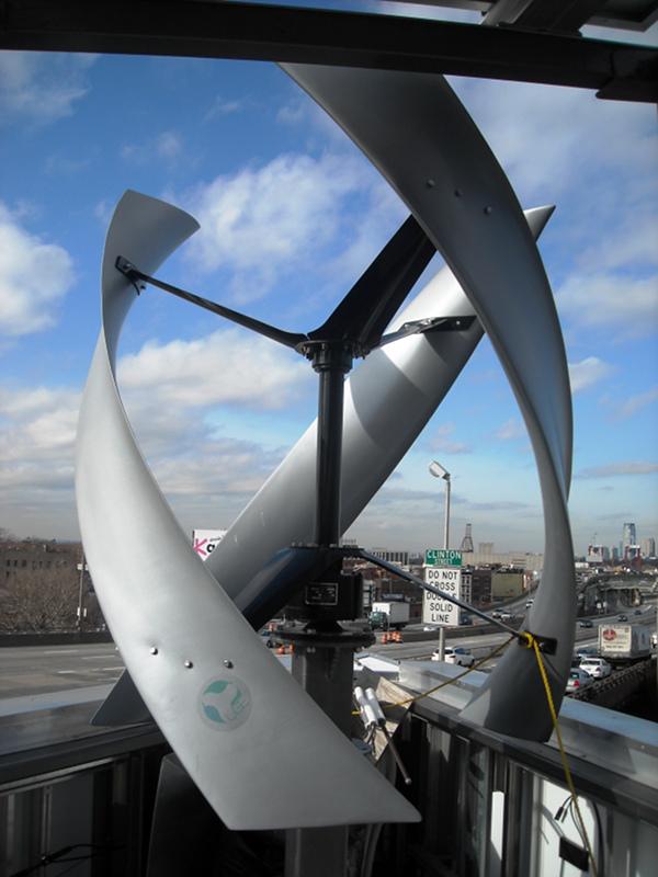 Delta building wind turbine