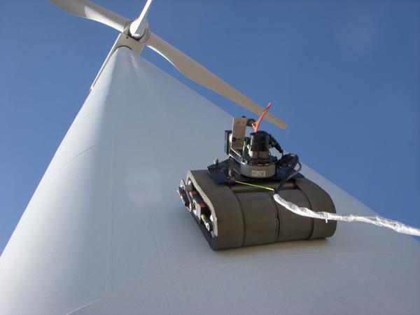GE turbine robot