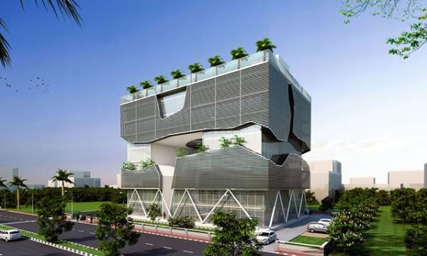 LIDA passive cooling building