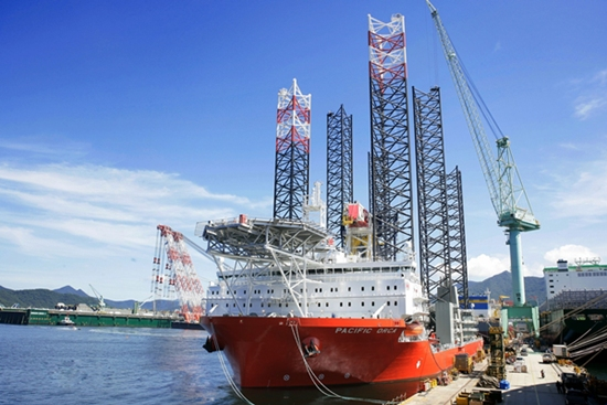 wind-farm installation vessel, samsun heavy industries