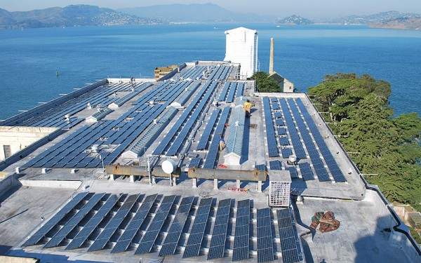 alcatraz solar power