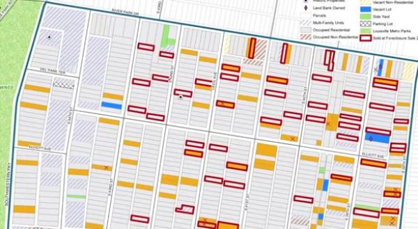 Network Center neighborhood map