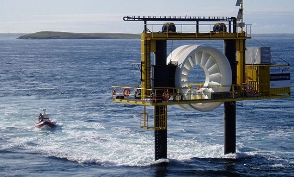 marine impact, tidal power devices