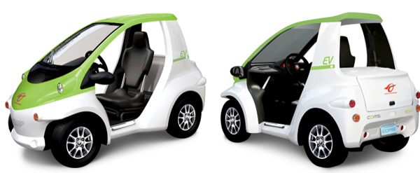 Toyota Iroad Price >> Toyota COMS Electric Vehicle One Sexy Golf Cart | EarthTechling