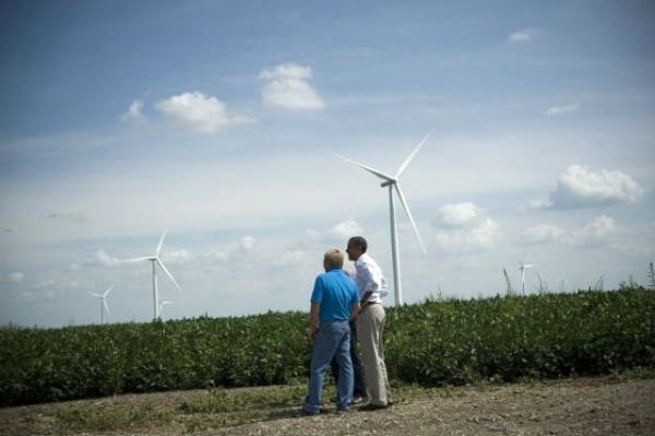 obama wind power