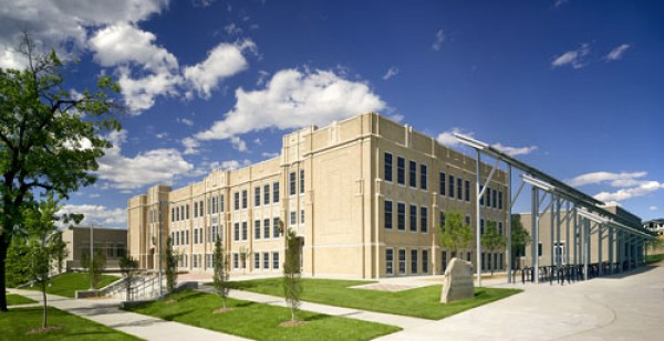 Casey Middle School, LEED certified