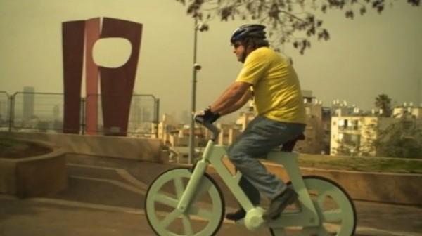 Gafni-cardboard-bike
